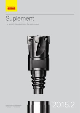 Sandvik Coromant - CoroMill 390 - suplement 15.2