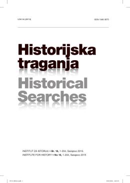 HT 16 FINAL.indd - Institut za istoriju Sarajevo