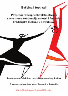 Baština i festivali - Filozofski fakultet