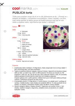 PUSLICA torta - Coolinarika