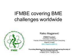 ifmbe - Društvo za medicinski i biološki inžinjering u Bosni i