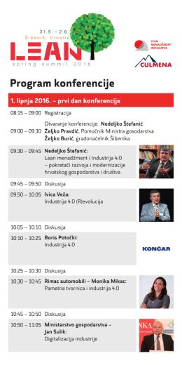 LSS 2016 program
