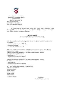 republikahrvatska primorsko – goranska županija općina dobrinj