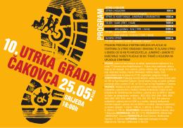 10. Utrka grada Cakovca 2016. letakA4