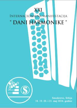Takmičarska knjižica - raspored nastupa takmičara