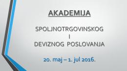 akademija - Privredna komora Beograda