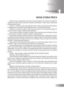 Emsura Hamzić: NOVA STARA PRIČA