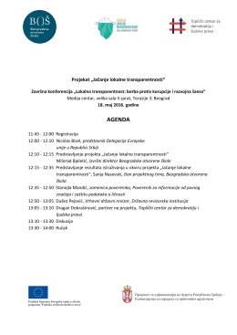 agenda - Medija centar Beograd