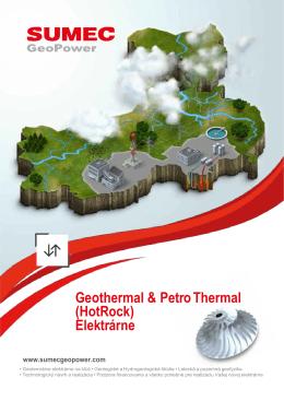 Geotermálne elektrárne