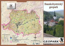 Informačný leták Banskobystrického geoparku