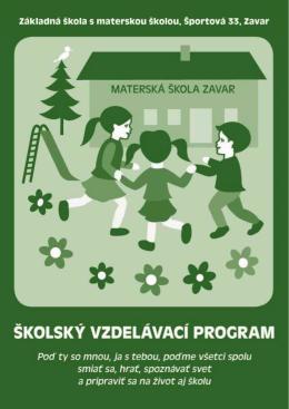 Základná škola s materskou školou, Športová 33, Zavar