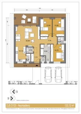 DJS O120 - Nezrkadlený 120,12 m²