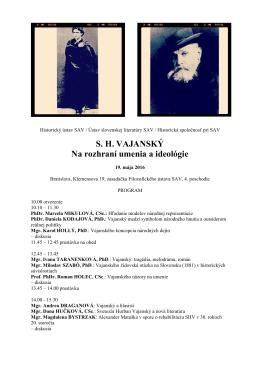 Svetozár Hurban Vajanský - Ústav slovenskej literatúry SAV