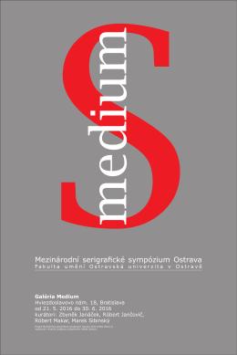 Mezinárodní serigrafické sympózium Ostrava
