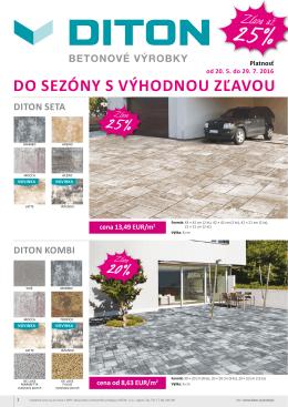 Diton - Stavebninypezinok.sk