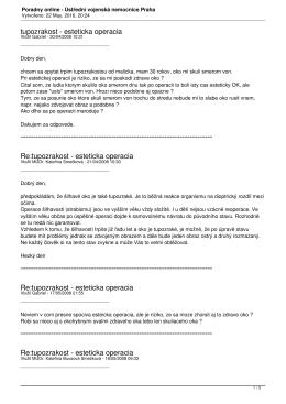 Poradny online - Ústřední vojenská nemocnice Praha