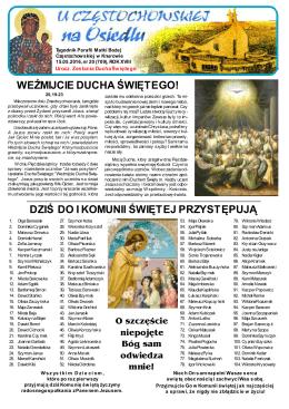 nr 20 - Parafia pw. Matki Bożej Częstochowskiej
