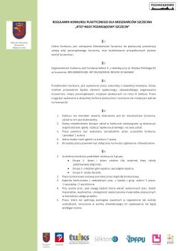 regulaminem - BIP Szczecin