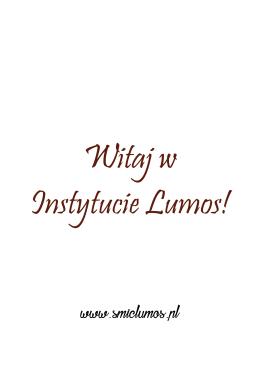 Samouczek - Instytut Lumos