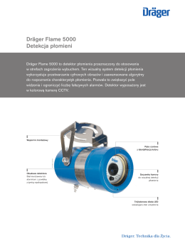 Productinformation: Dräger Flame 5000