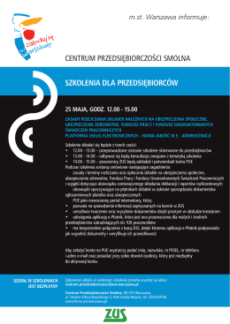 Szczegóły - Centrum Przedsiębiorczości Smolna