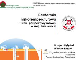 3. geotermia niskotemperaturowa