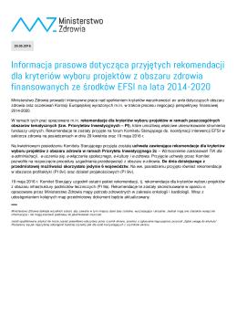 Drukuj do PDF - Ministerstwo Zdrowia