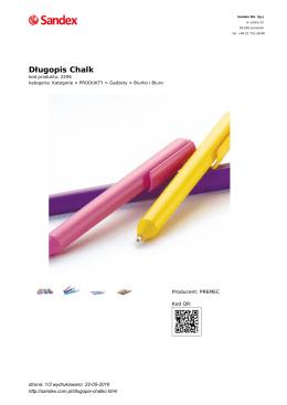 Długopis Chalk