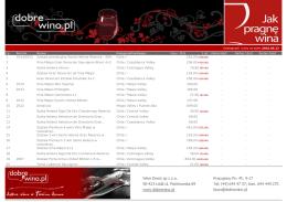 drukuj do pdf - dobrewino.pl