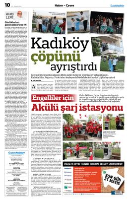 Haber - Çevre - gazete kadıköy
