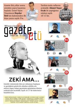 ZEKİ AMA... - Gazete ETÜ