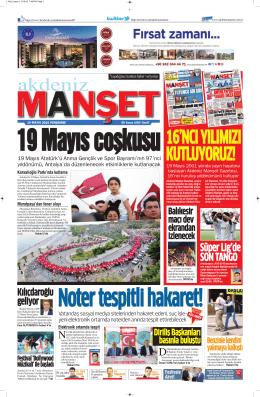 Süper Lig`de SON TANGO - Antalya Haber - Haberler