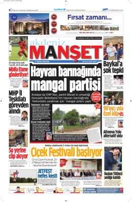 Baykal`a şok tepki - Antalya Haber - Haberler