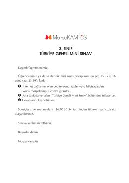12-13 Mayıs Mini Sınav.indd