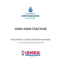 adım adım üsküdar - İsmek - İstanbul Büyükşehir Belediyesi