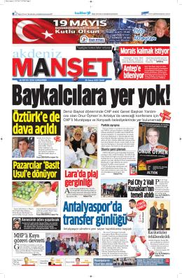 Pazarcılar `Basit Usul`e dönüyor - Antalya Haber - Haberler
