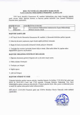 BAsVURU sARTLARI - euygulama.dpb.gov.tr