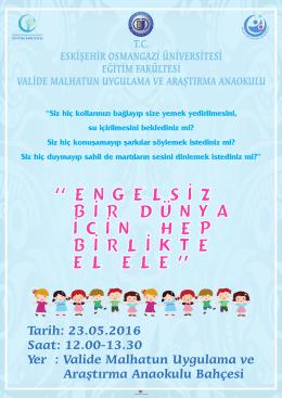 KERMES AFİŞ - Eskişehir Osmangazi Üniversitesi