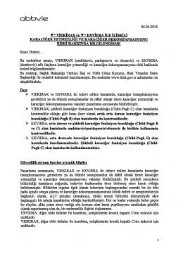 cbbvie - Türkiye İlaç ve Tıbbi Cihaz Kurumu