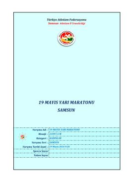 kadınlar - Türkiye Atletizm Federasyonu