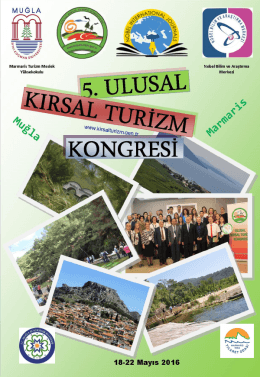 kongre program kitapçığı