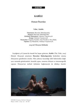 kabile - Sekans Sinema Grubu