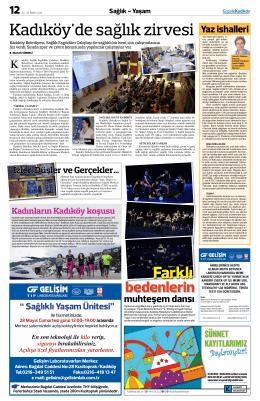 Kadıköy`de sağlık zirvesi