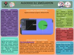 Algodoo ile simülasyon için tıklayınız.