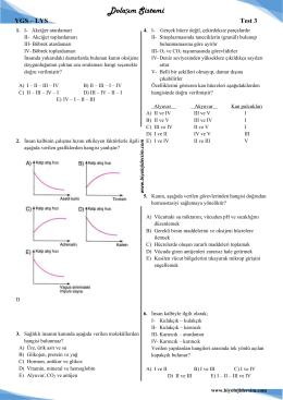 Dolaşım Sistemi - Biyoloji Dersim