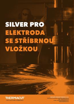 brožura silver pro elektrody vhodné pro hypertherm