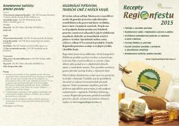 Recepty Regionfestu 2015
