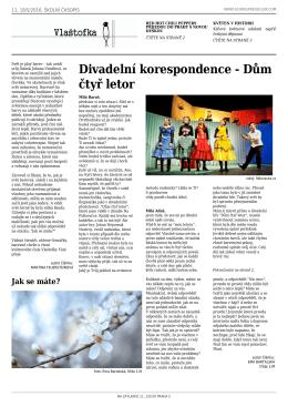 11. číslo časopisu Vlaštofka - Gymnázium Praha 5, Na Zatlance 11
