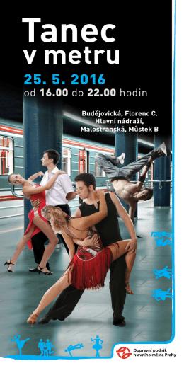 Tanec v metru 2016