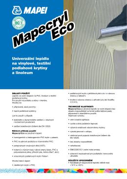 Mapecryl Eco Mapecryl Eco